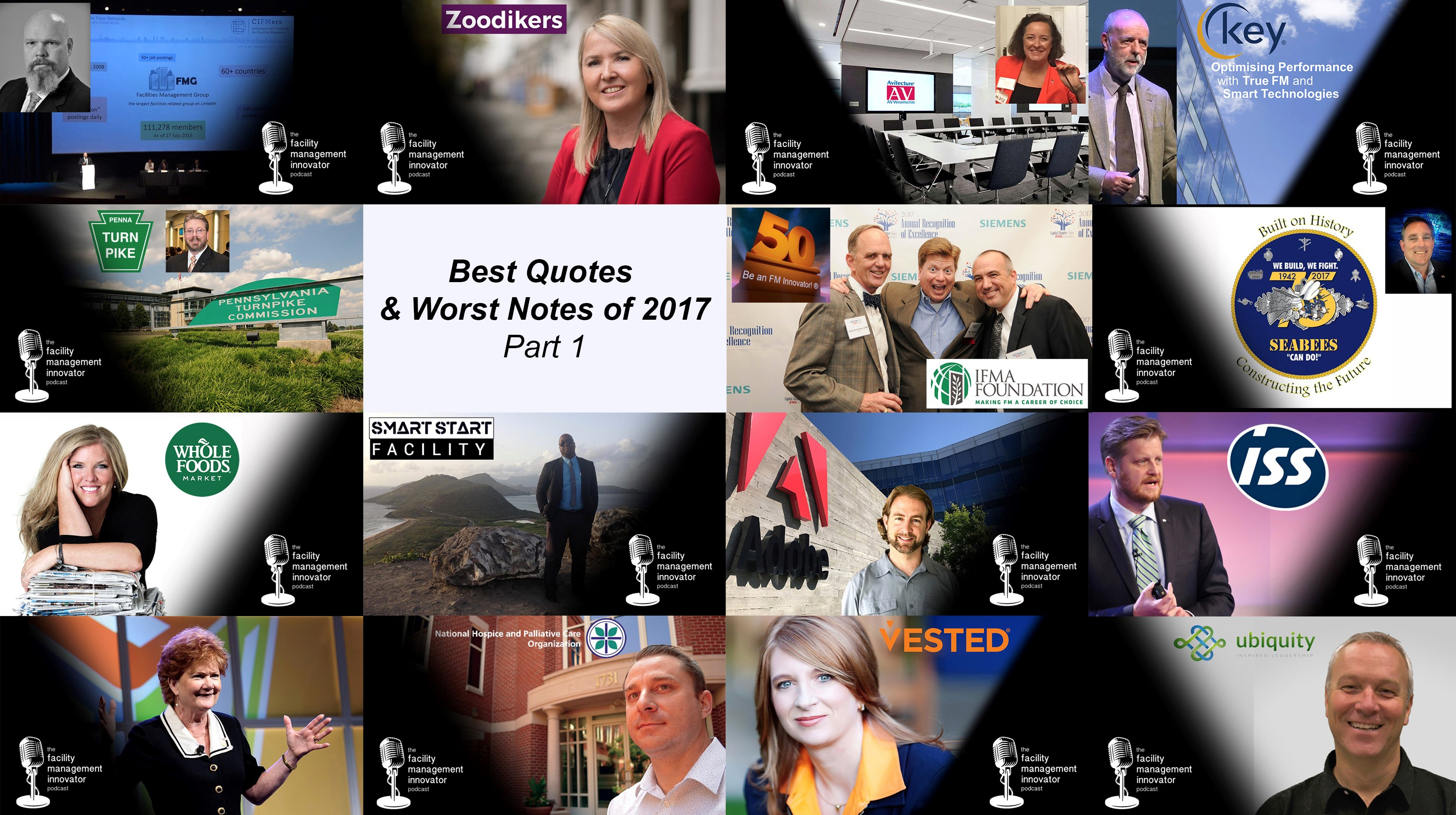 Ep. 69: Best Quotes & Worst Notes of 2017 (Part 1) | An FM Innovator Podcast Retrospective